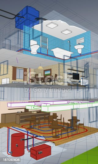 istock Building section discovering apartments 187092606