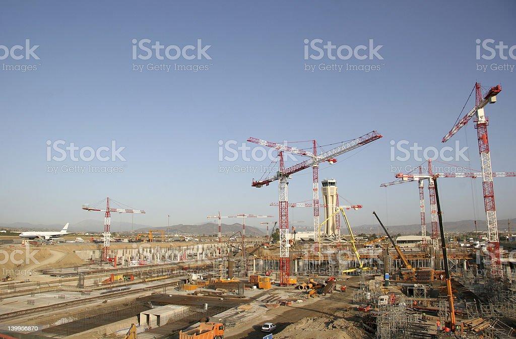 Building site 2 stock photo
