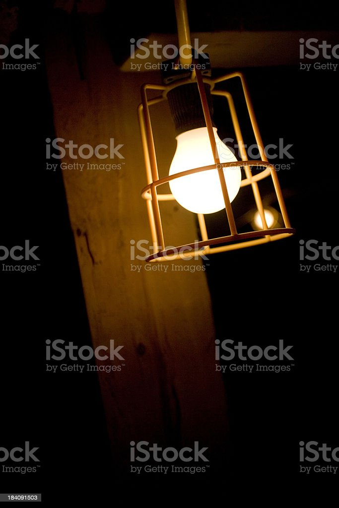 Building Site Lamp royalty-free stock photo