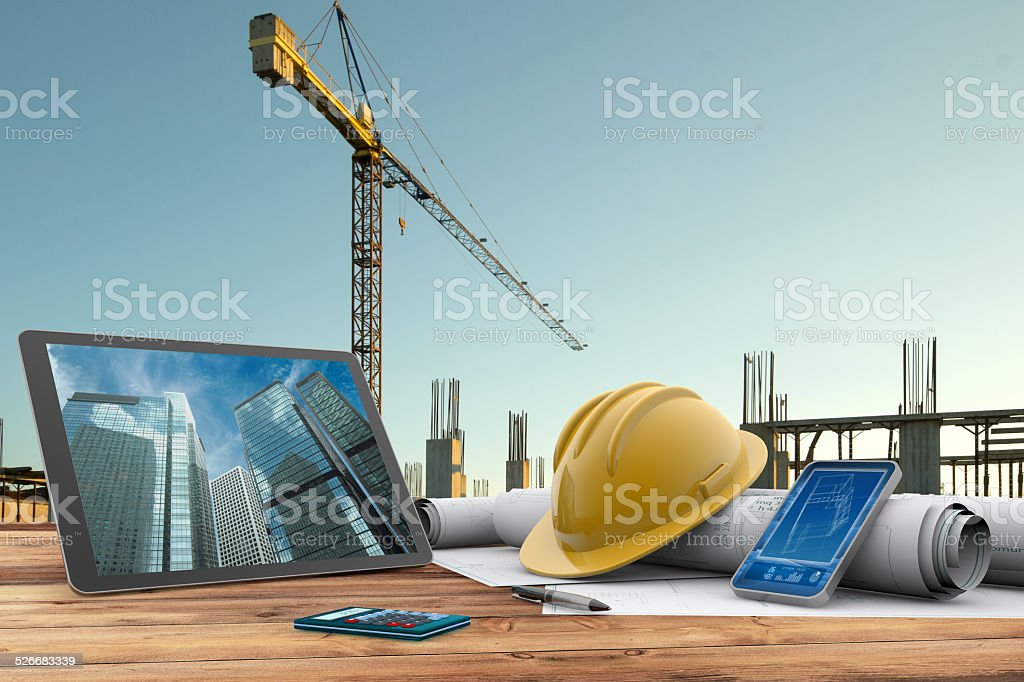 building site - Royalty-free Architect Stock Photo