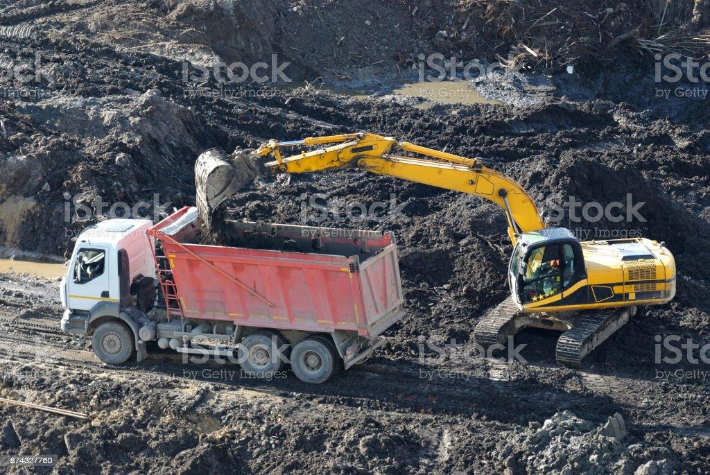 Building site. stock photo