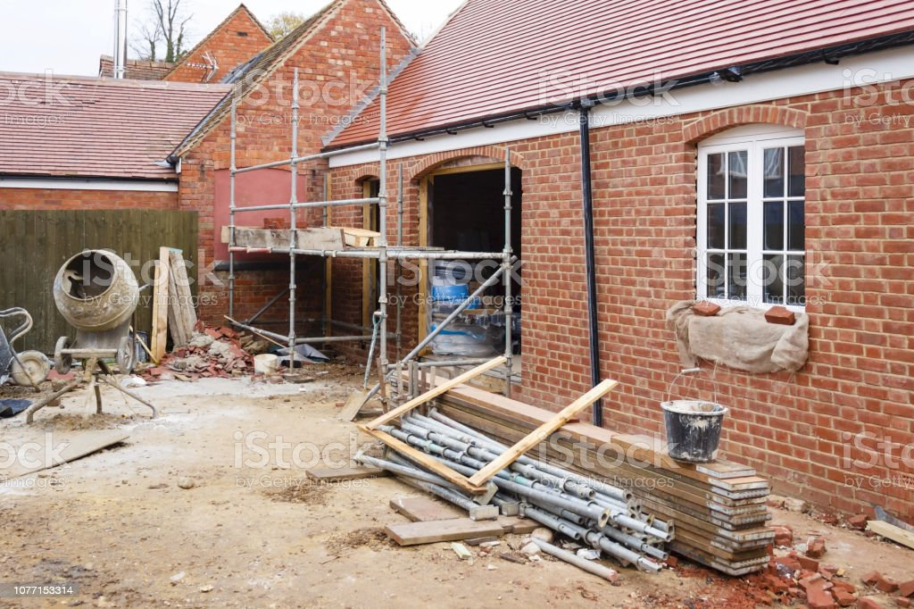 Construction site UK - Photo