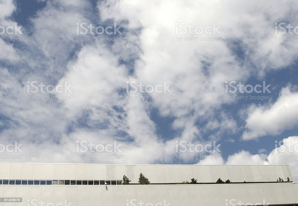 Building + Sky stock photo