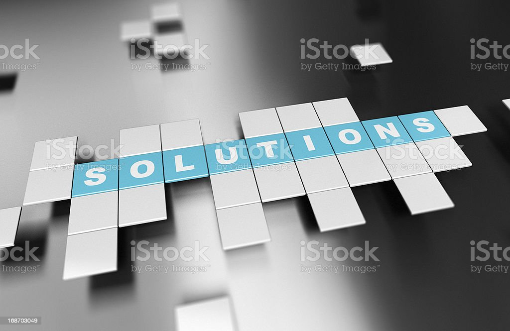 Building Solutions, Innovative Business Ideas royalty-free stock photo
