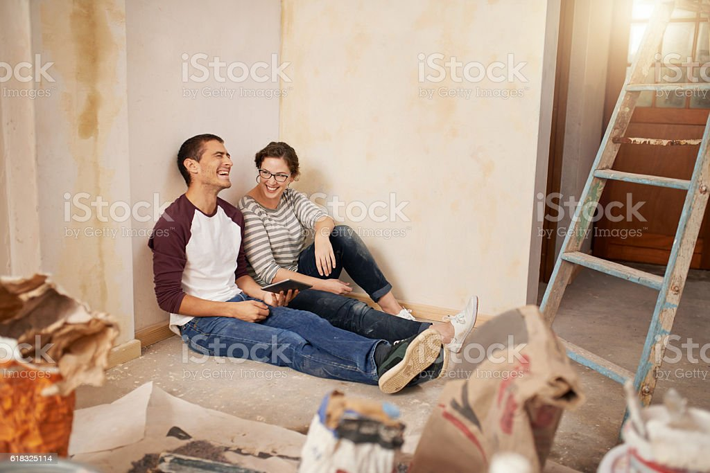Building special memories stock photo