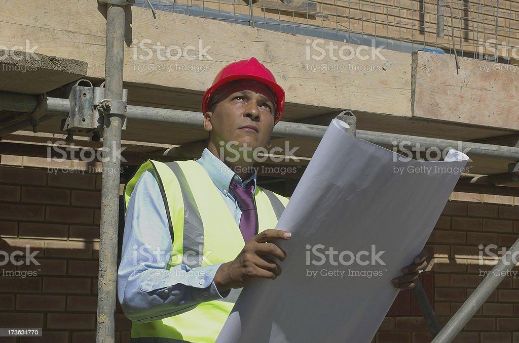 building supervisor royalty-free stock photo