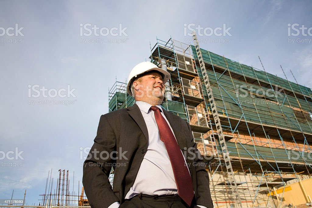 Building Supervisor royalty-free stock photo