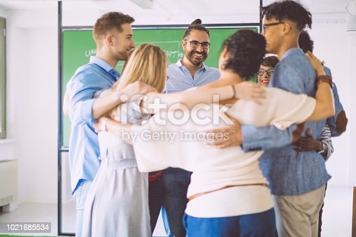 istock Building team cohesion 1021685534