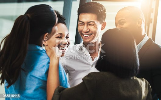 938516440 istock photo Building team morale builds a business 938516446