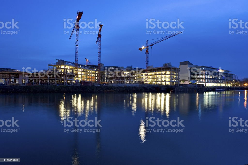 Building The City royalty-free stock photo