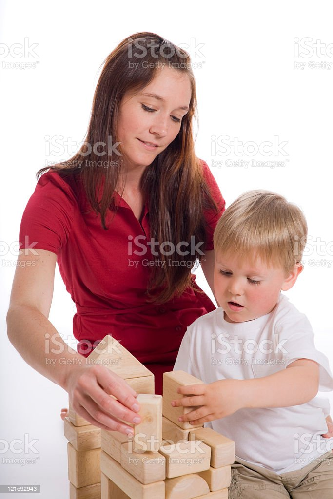 Building Together royalty-free stock photo