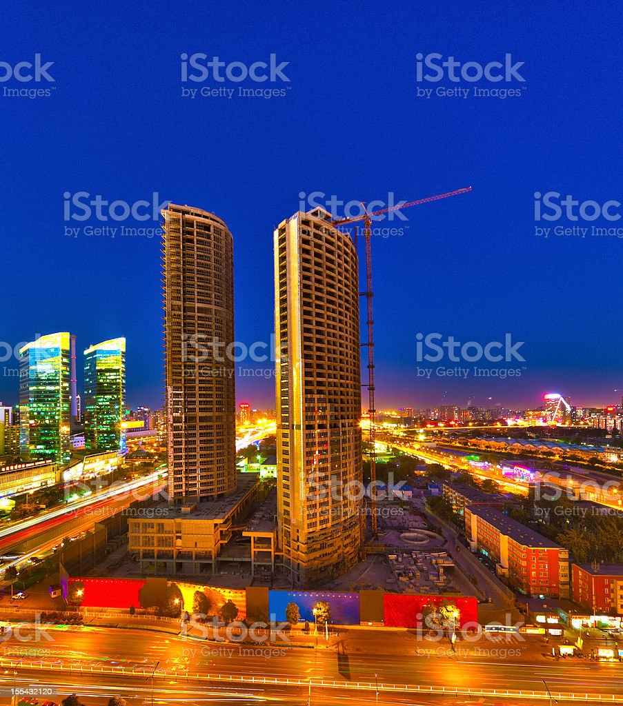 Building Under Construction royalty-free stock photo