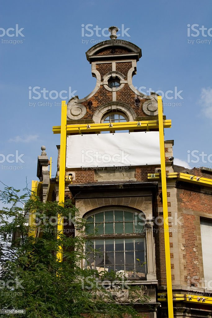Building, Under construction royalty-free stock photo