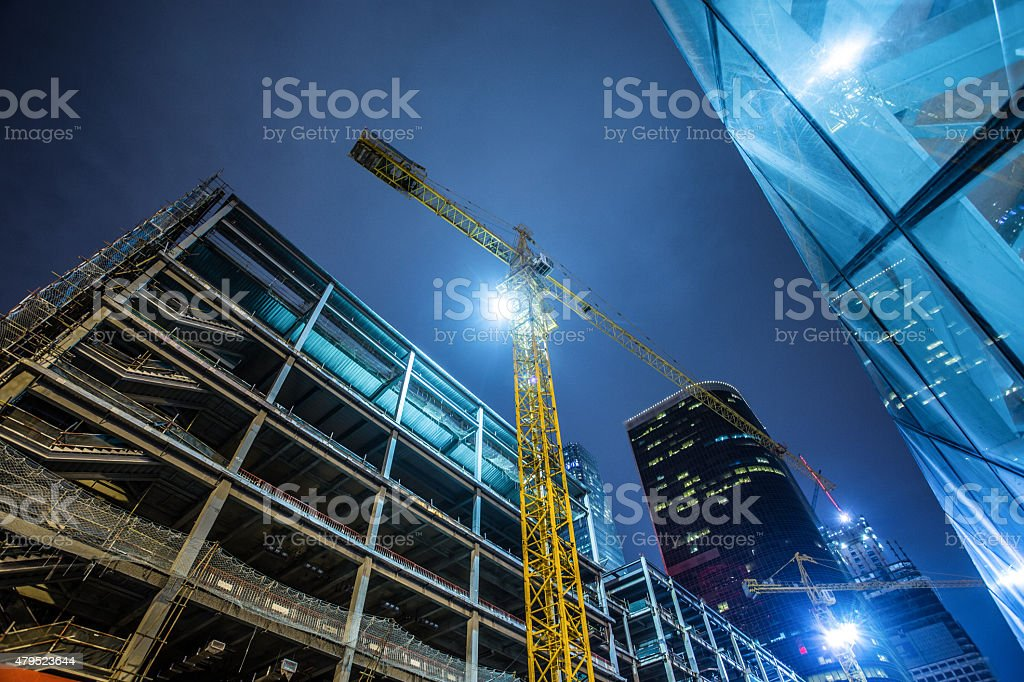Building Under Construction​​​ foto