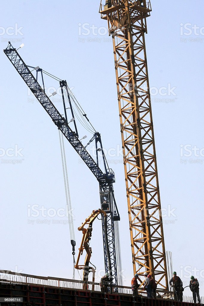 building under construction - Royalty-free Architect Stock Photo