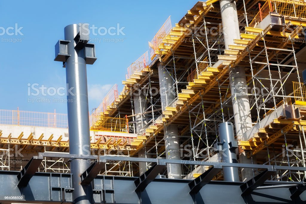 building under construction - Royalty-free Apartment Stock Photo