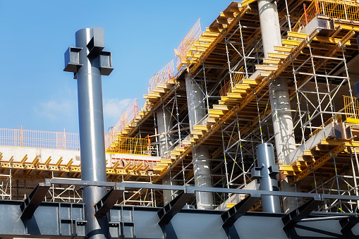 Building Under Construction Stock Photo - Download Image Now