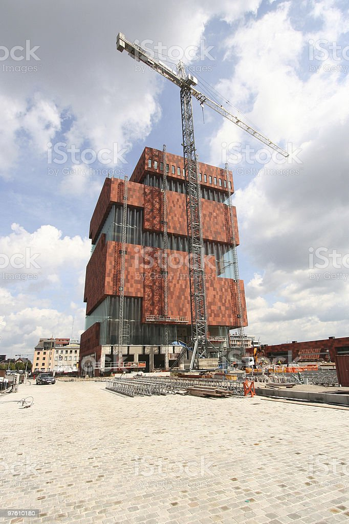 Building under Construction royaltyfri bildbanksbilder