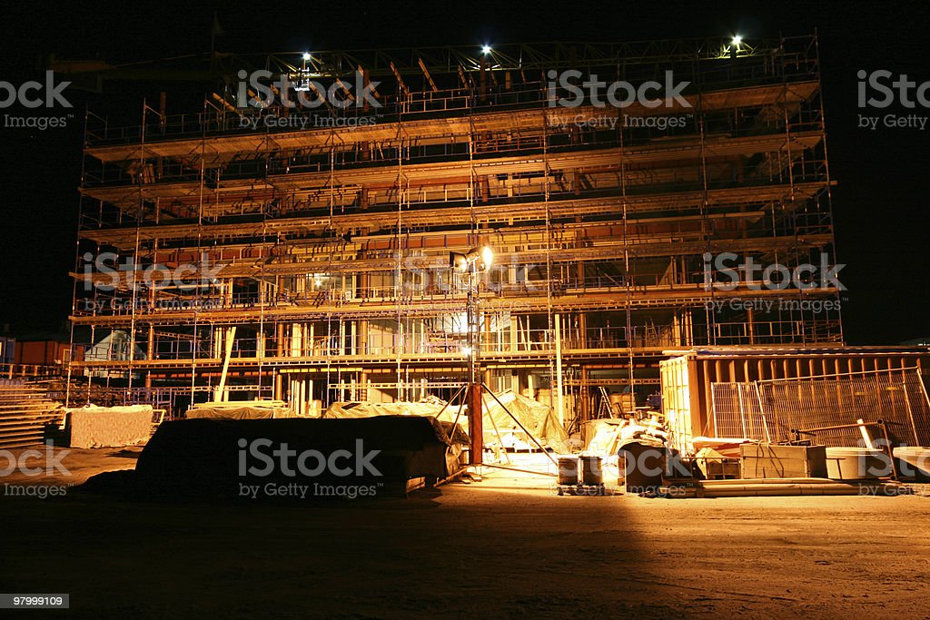 Building under construction royalty free stockfoto