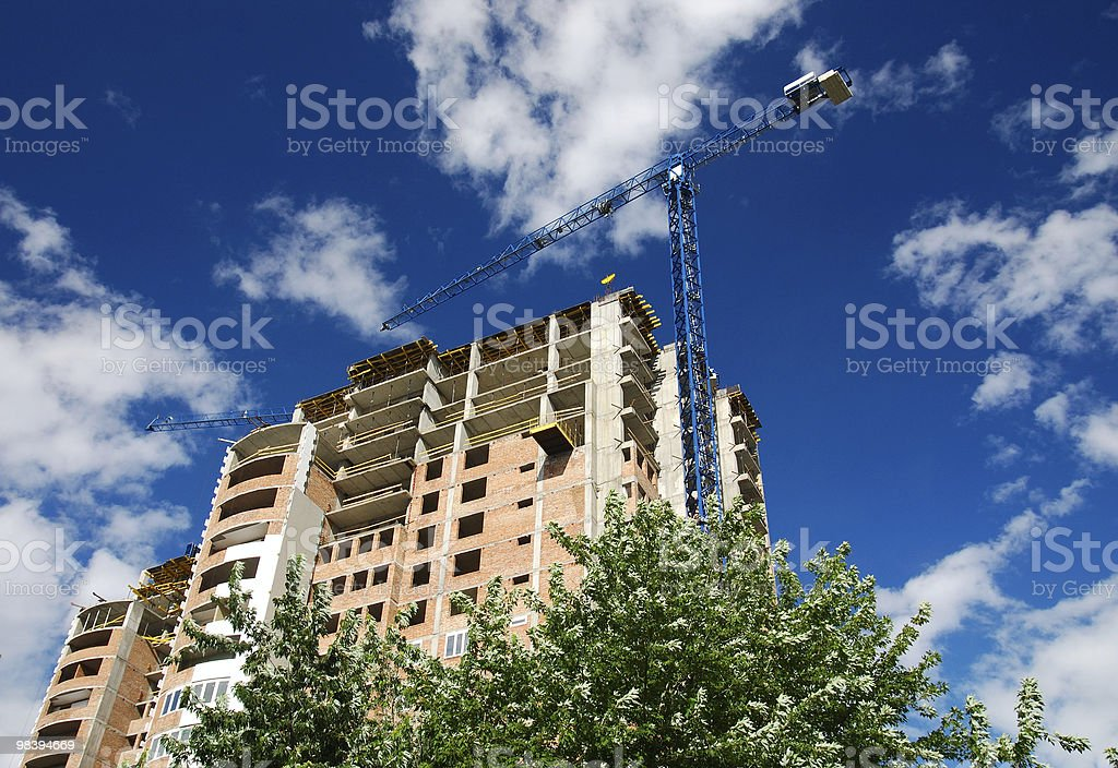 building under construction#1 royalty-free stock photo