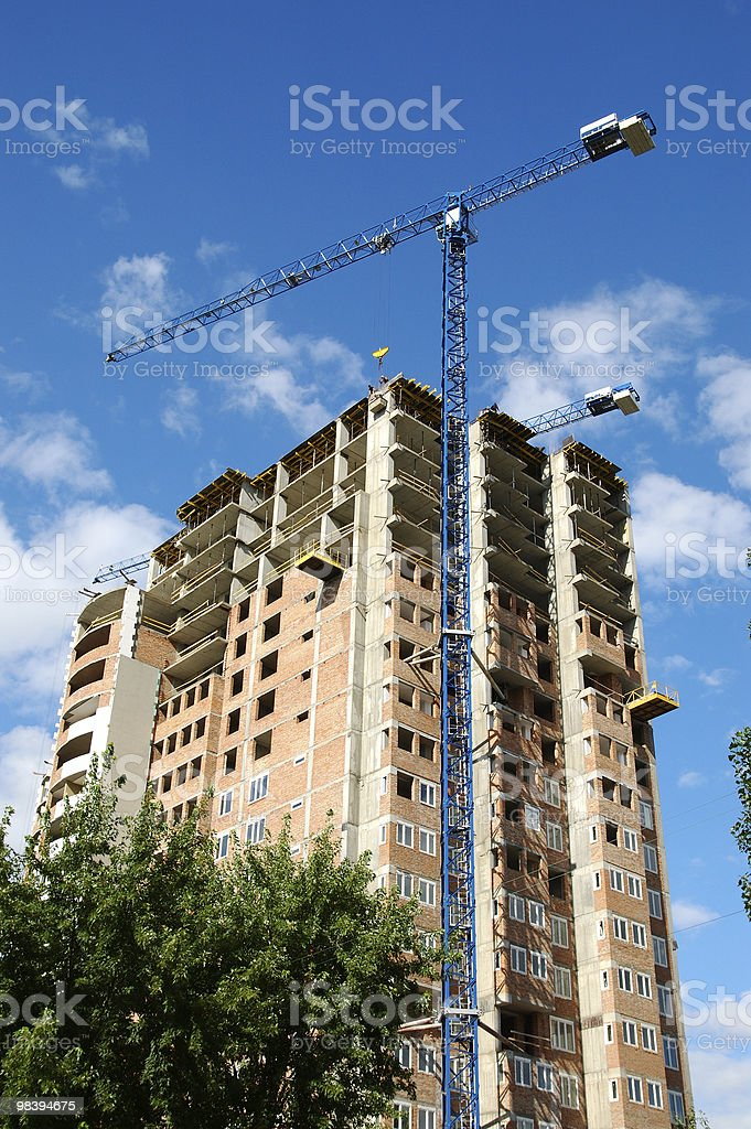 building under construction#3 royalty-free stock photo