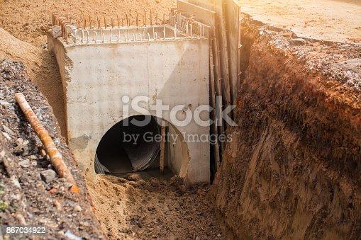 istock building underground drain water pipe 867034922
