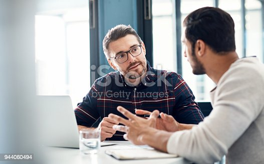 istock Building up on their ideas 944060494