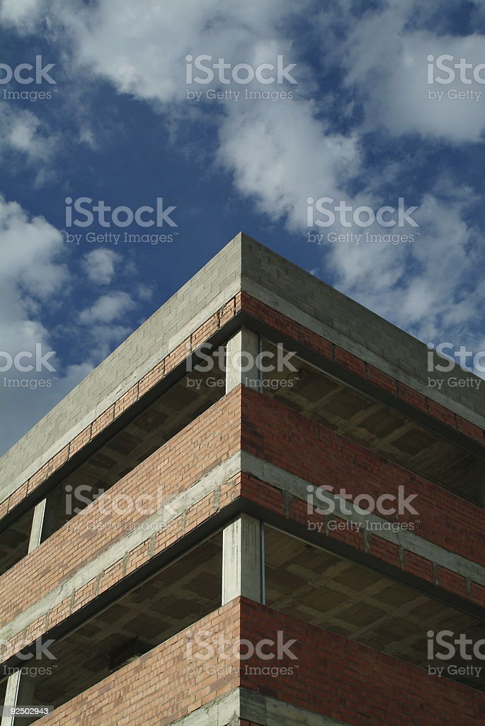 Building up! royalty-free stock photo