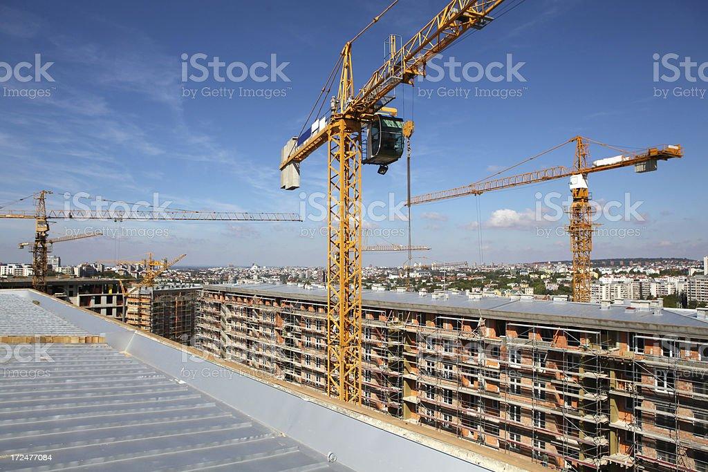 Building upward royalty-free stock photo