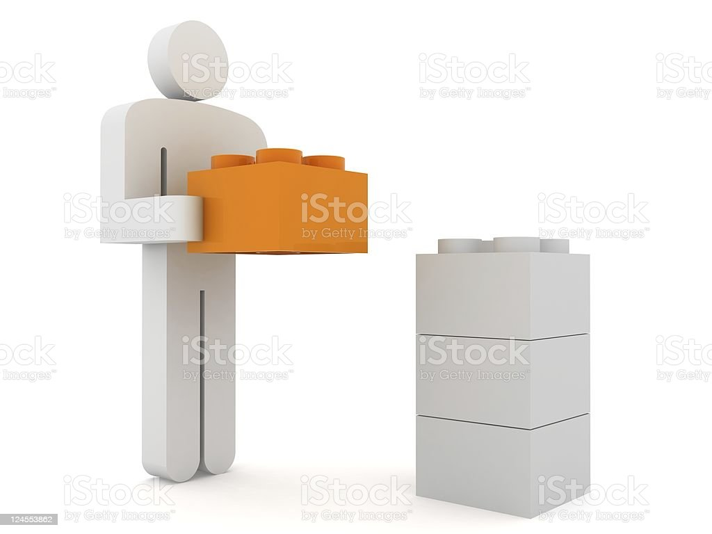 Building Value royalty-free stock photo