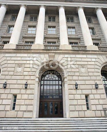 istock IRS Building Washington DC. 614027360