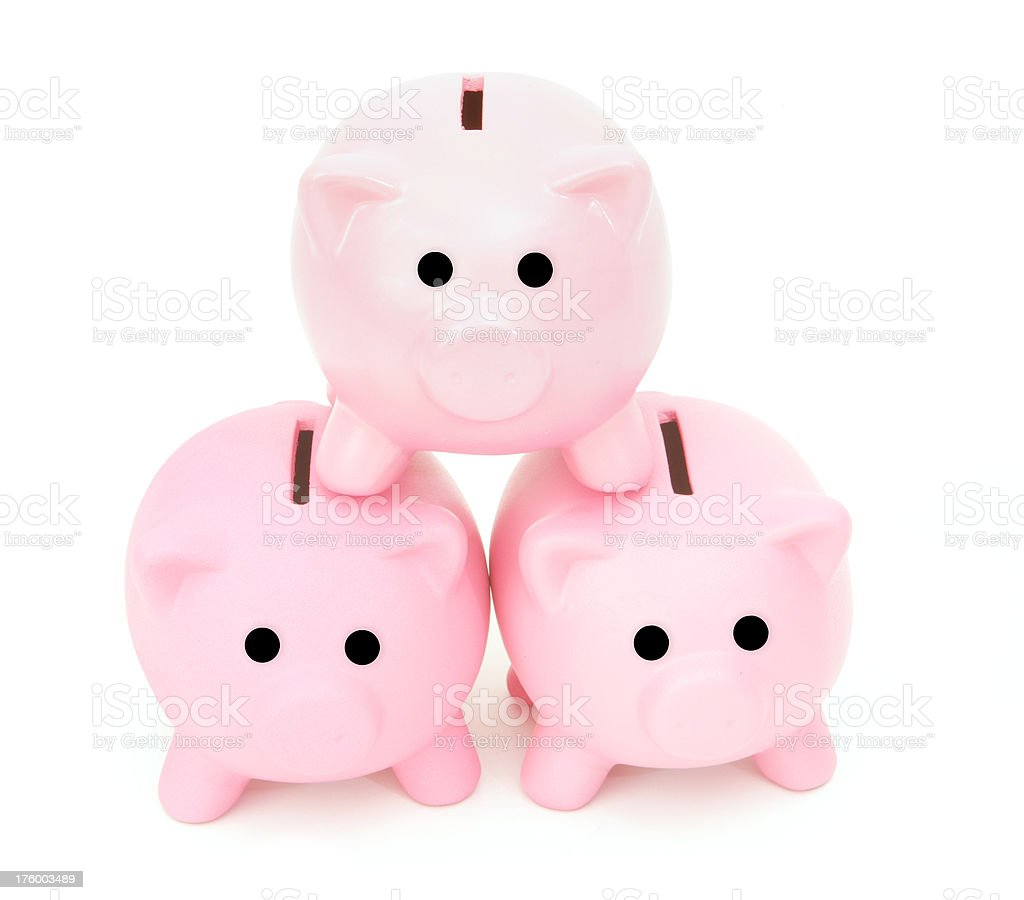 Building Wealth stock photo