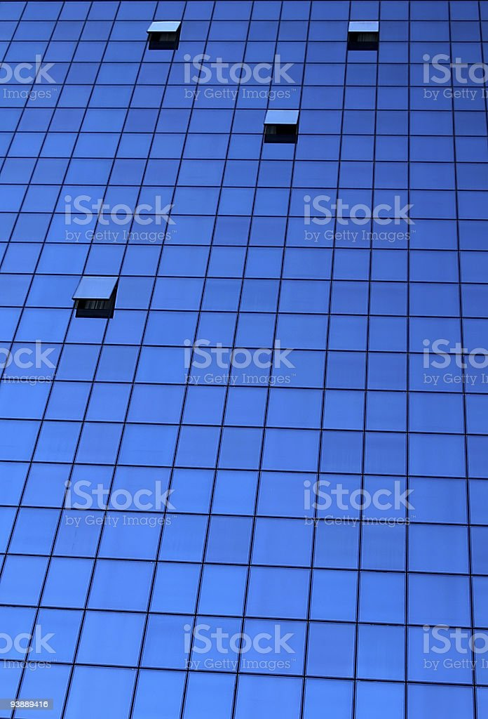 Building window glass background royalty-free stock photo