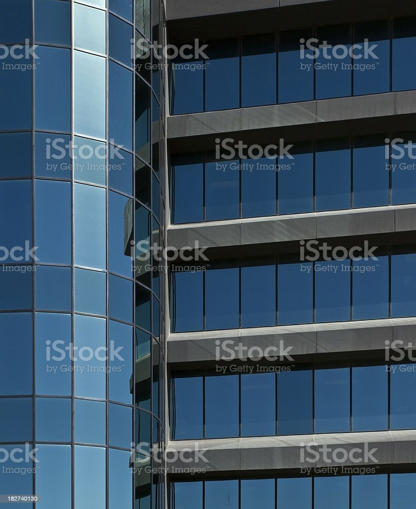Building windows royalty-free stock photo