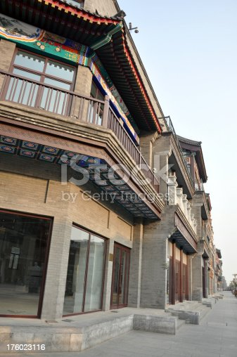 Building with Chinese Architecture Style