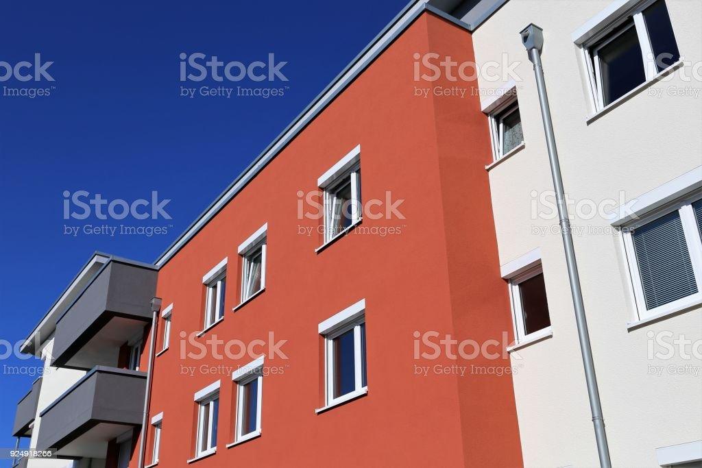 Gebäude mit moderner Fassade – Foto