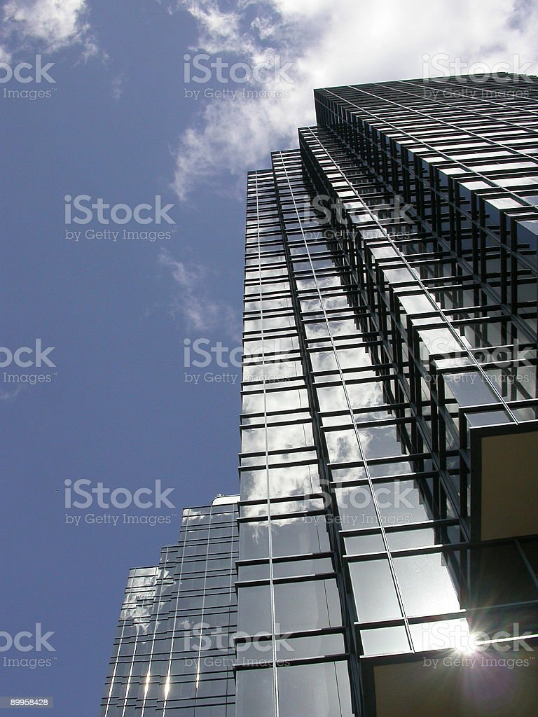 Building with star royalty-free stock photo