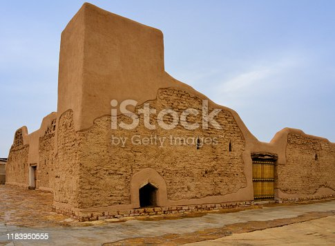 Riyadh, Saudi Arabia: the old streets of Ad Dir'iyah, At-Turaif District, UNESCO World Heritage Site - the country's first capital, from 1744 to 1818, place of the alliance between the Emir of Diriyah Mohammed bin Saud and Mohammed bin Abdul Wahab, founder of Wahabism - Najdi architecture