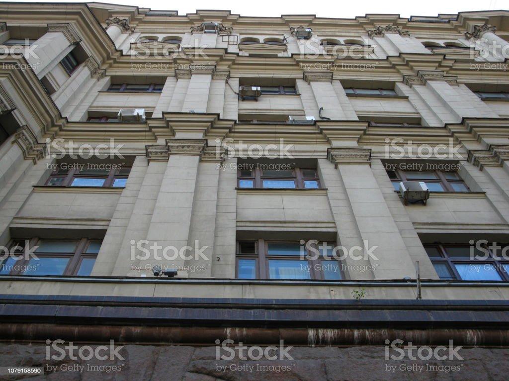 Mit Windows bauen. Der Blick von unten nach oben – Foto