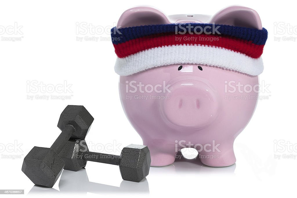 building your savings stock photo