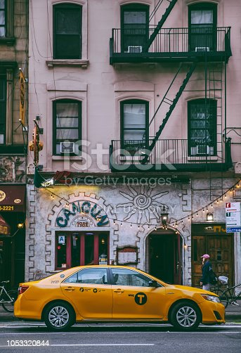 17th September 2018,Manhttan NYC:Buildings and streets in Manhattan,New York City.