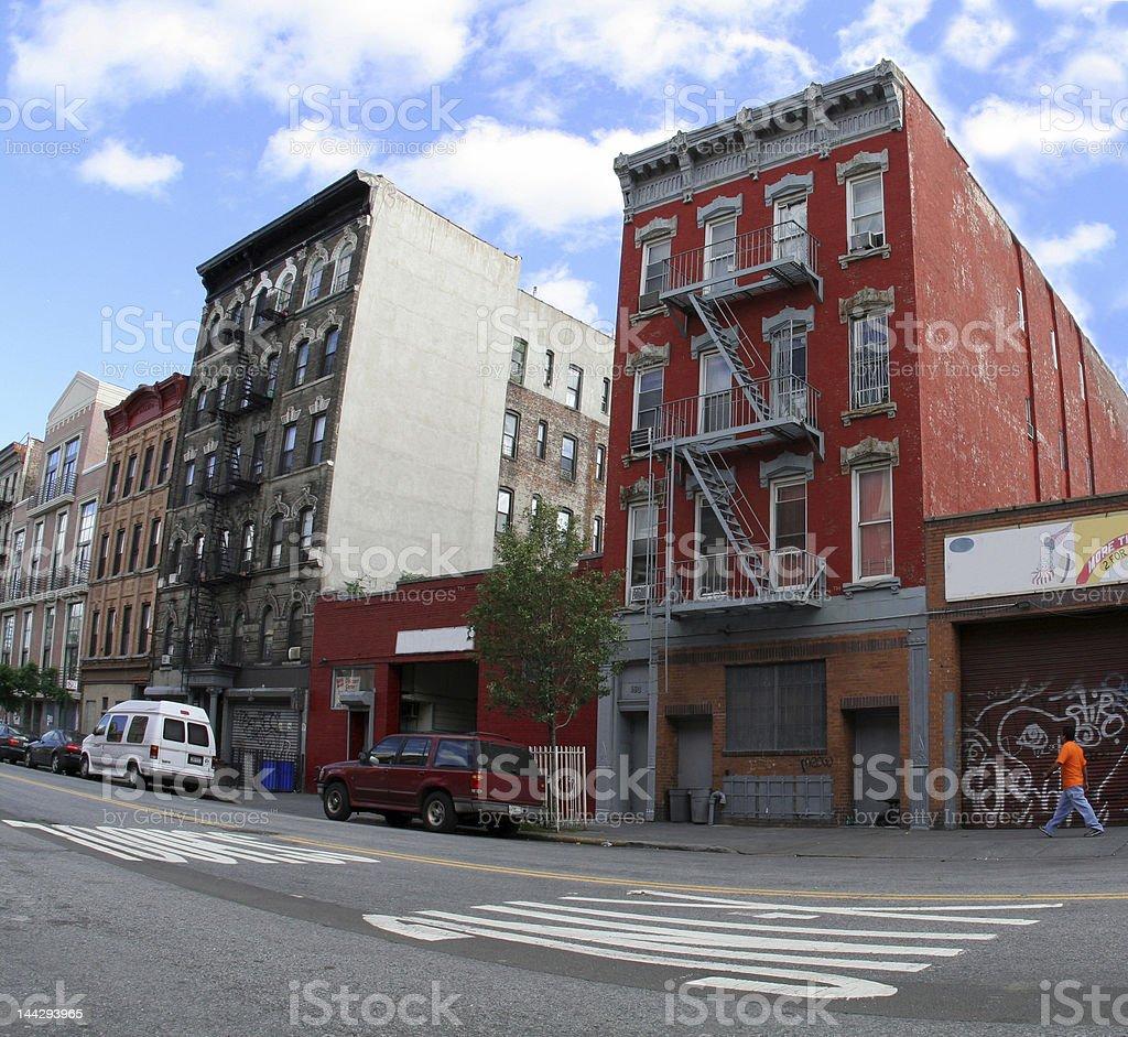 Buildings Brooklyn New York royalty-free stock photo