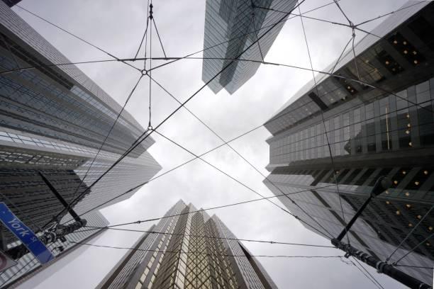 Buildings de Toronto, Canada stock photo