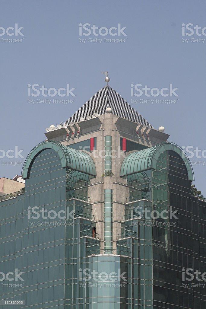 buildings del paseo de la reforma royalty-free stock photo