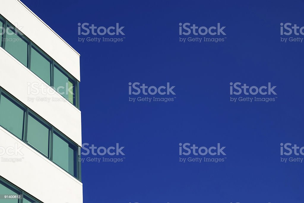 Building's Edge royalty-free stock photo