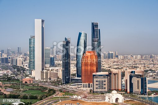 517465184 istock photo Buildings in Abu Dhabi 517905726