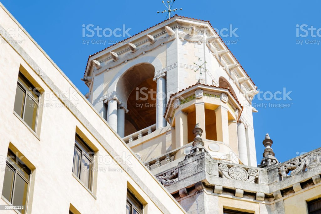 Buildings in Havana stock photo