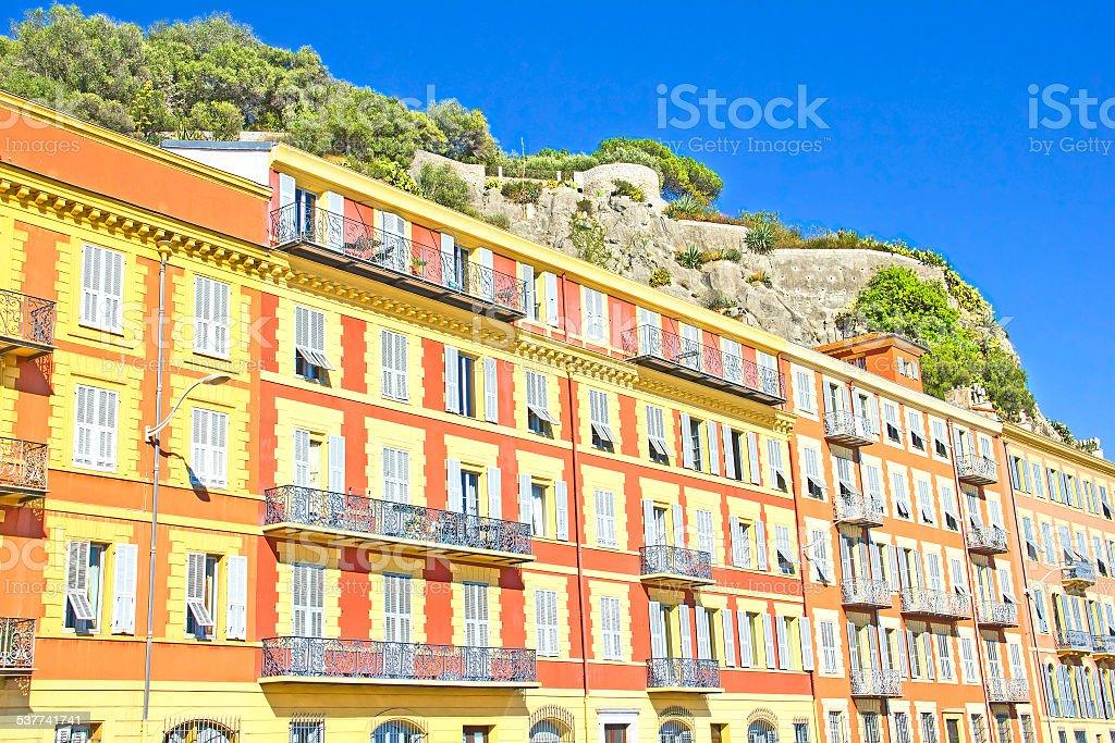 Gebäude in Nizza, Frankreich – Foto
