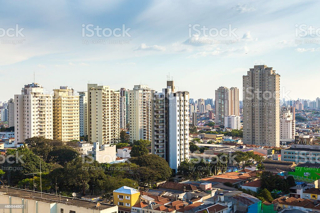 Buildings in Sao Paulo, Brazil stock photo