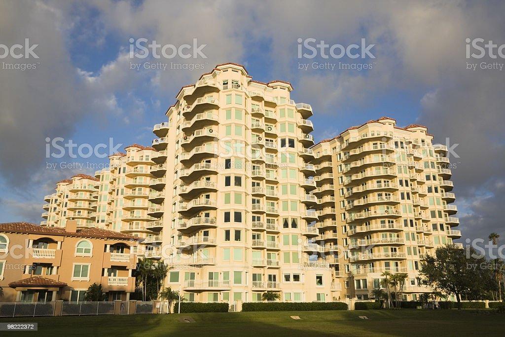 Buildings in St. Petersburg, Florida. royalty-free stock photo